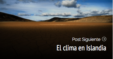 El clima en Islandia